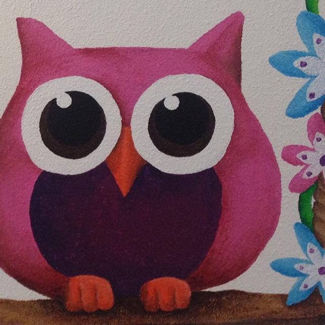 Muurschilderingen in limburg voor babykamers en kinderkamers little uk - Schilderij in de kamer ...